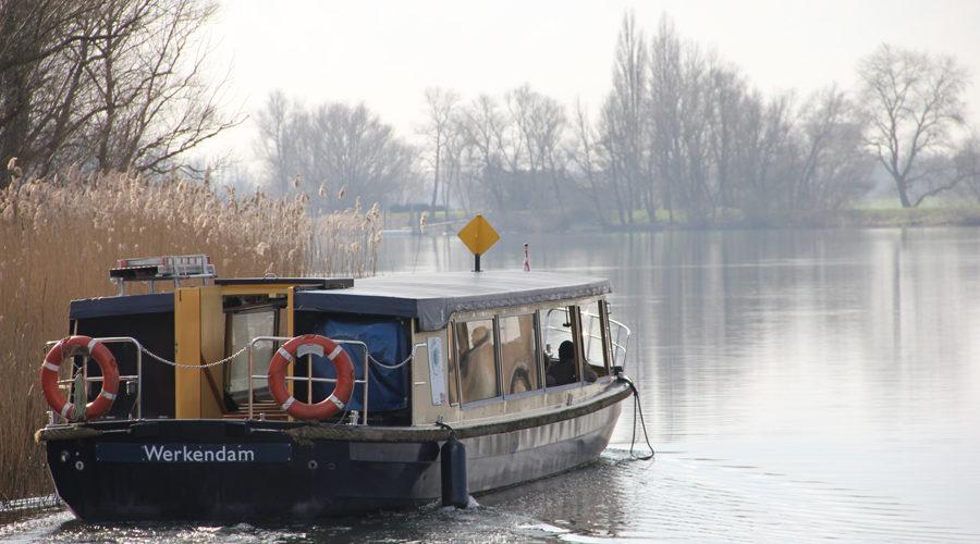 Rondvaartboot Biesbosch MuseumEiland