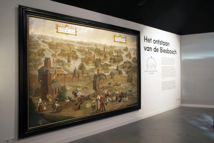 Het ontstaan van de Biesbosch