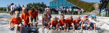 Kinderfeestje op het Biesbosch MuseumEiland