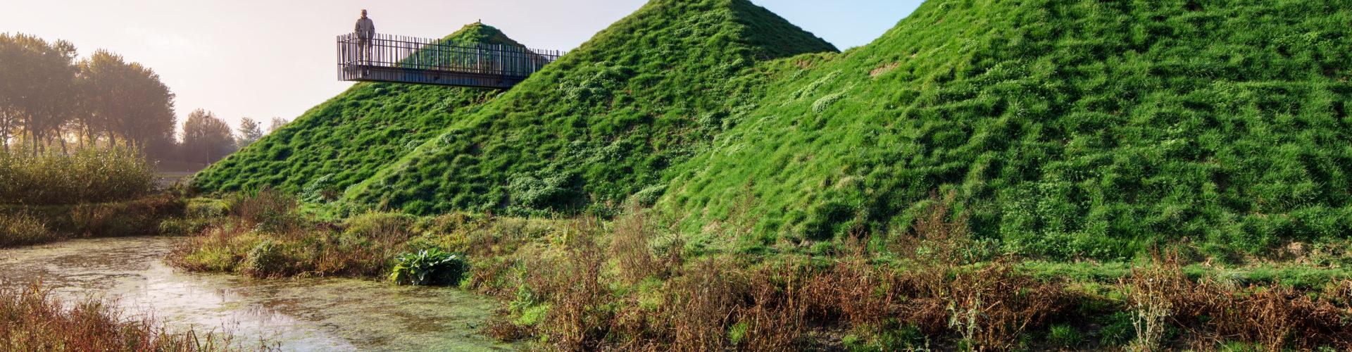 Loopbrug Biesbosch MuseumEiland