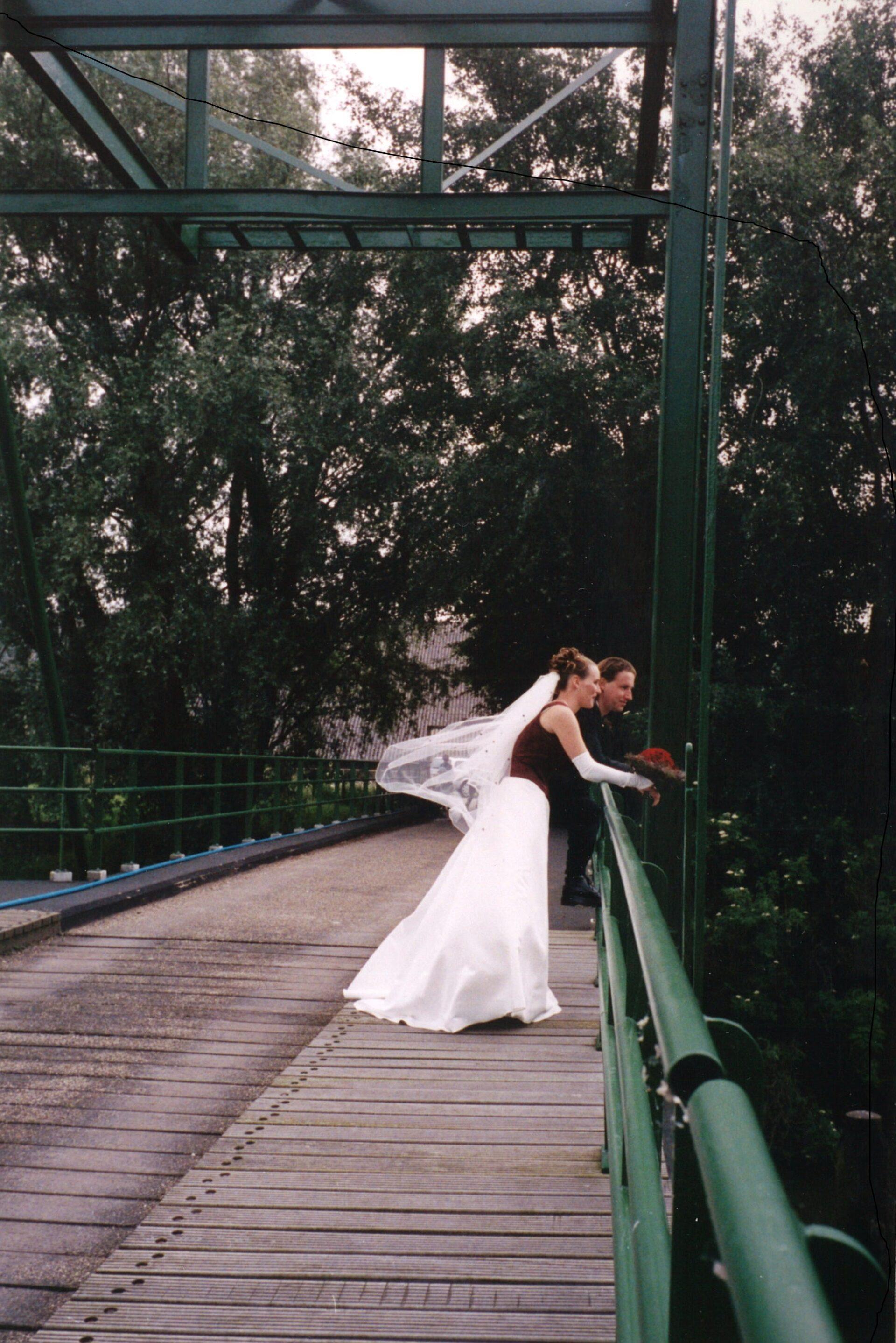 Huwelijk in de Biesbosch
